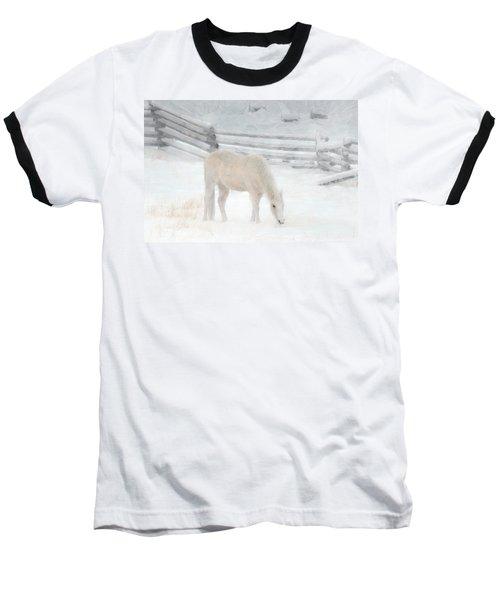 Shades Of Pale Baseball T-Shirt by Ed Hall