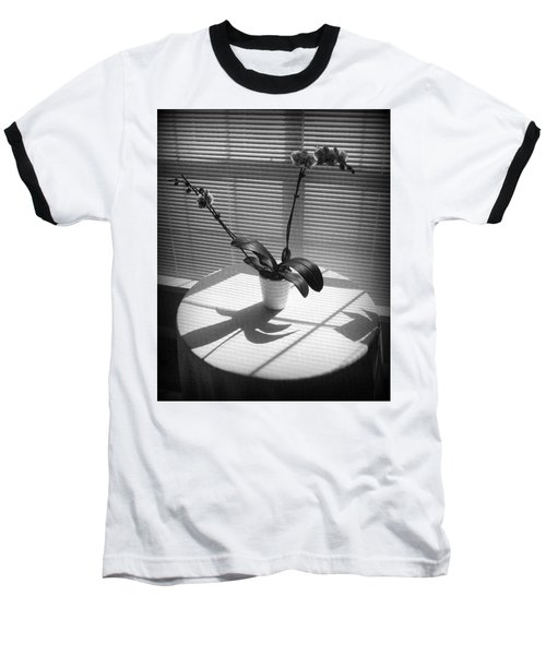 Shadow Patterns Baseball T-Shirt