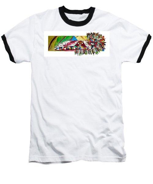 Shango Firebird Baseball T-Shirt