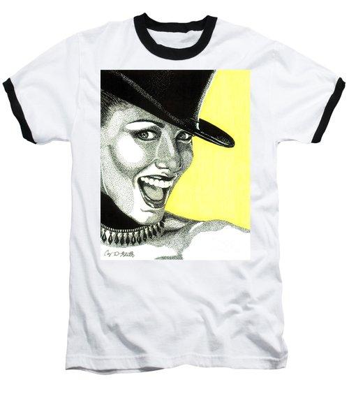 Shania Twain Baseball T-Shirt