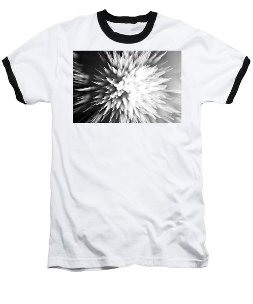 Baseball T-Shirt featuring the photograph Shattered by Dazzle Zazz