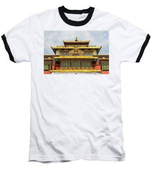 Shechen Monastery In Kathmandu Baseball T-Shirt