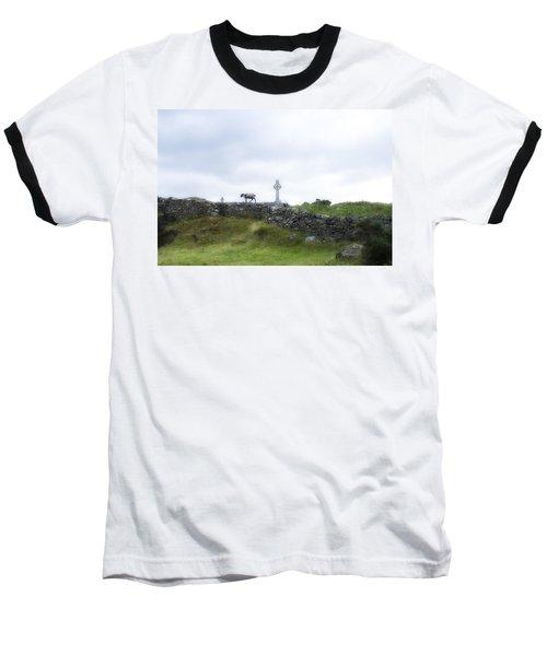 Sheep And Cross Baseball T-Shirt