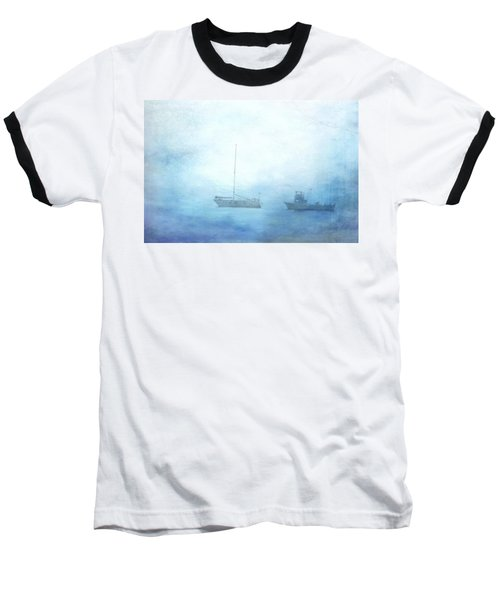 Ships In The Morning Haze  Baseball T-Shirt