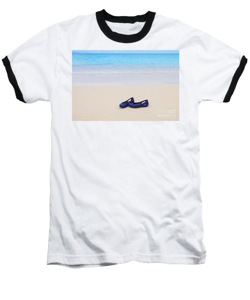Shoes In Paradise Baseball T-Shirt