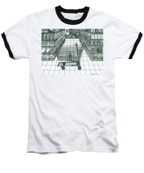 Shop And Slave Baseball T-Shirt