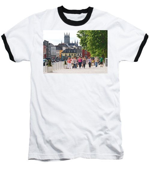Baseball T-Shirt featuring the photograph Shopping Trip by Mary Carol Story