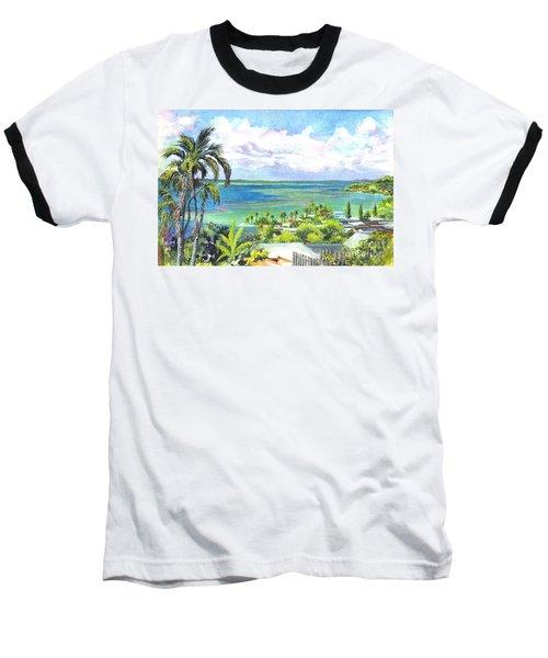 Shores Of Oahu Baseball T-Shirt
