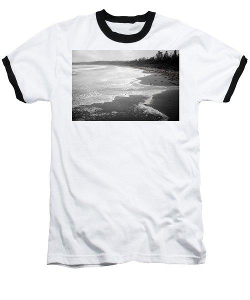 Winter At Wickaninnish Beach Baseball T-Shirt
