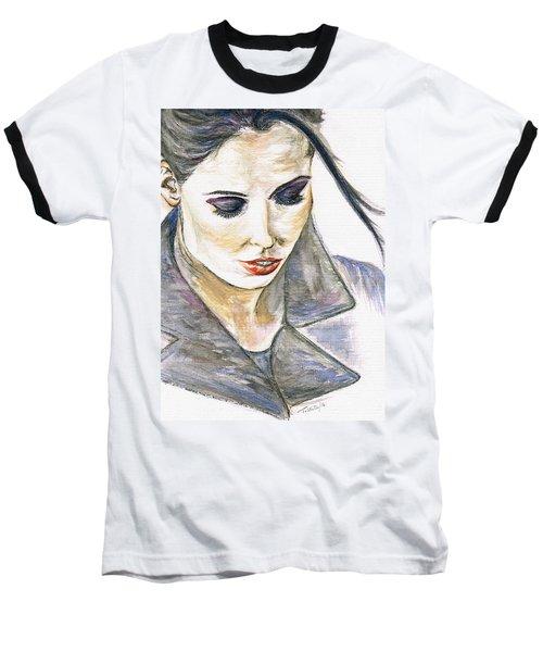 Shy Lady Baseball T-Shirt