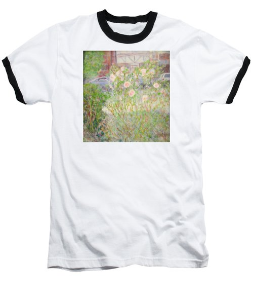 Sidewalk Flowers In Chicago Baseball T-Shirt