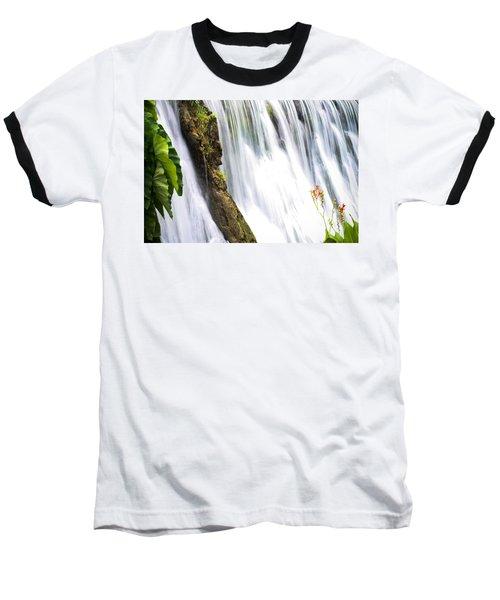 Silk Ribbons Baseball T-Shirt