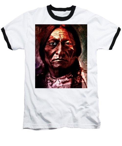 Sitting Bull - Warrior - Medicine Man Baseball T-Shirt