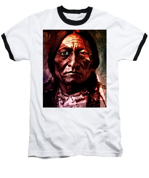 Sitting Bull - Warrior - Medicine Man Baseball T-Shirt