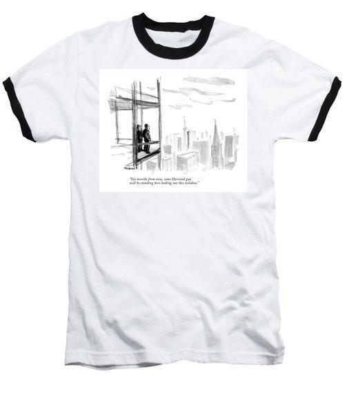 Six Months From Now Baseball T-Shirt