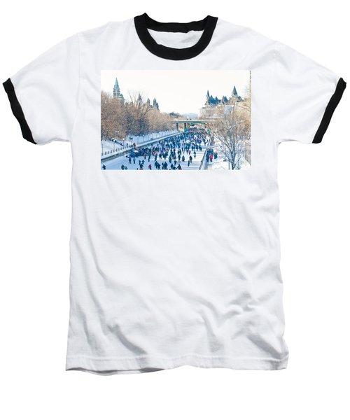 Skating Baseball T-Shirt