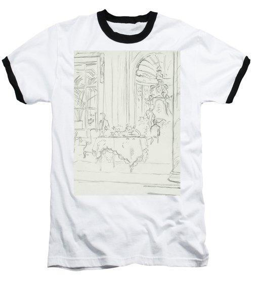Sketch Of A Formal Dining Room Baseball T-Shirt