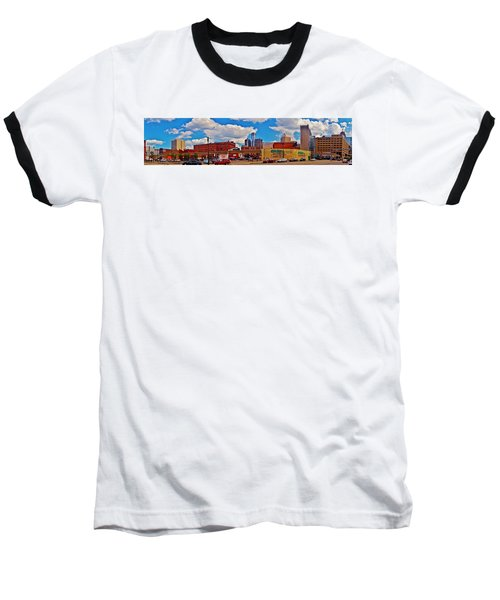 Skyline From The Inside... Detroit Baseball T-Shirt