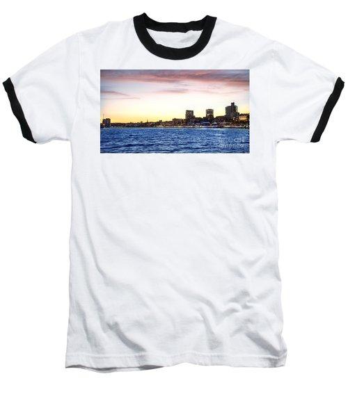 Skyline Hamburg Baseball T-Shirt