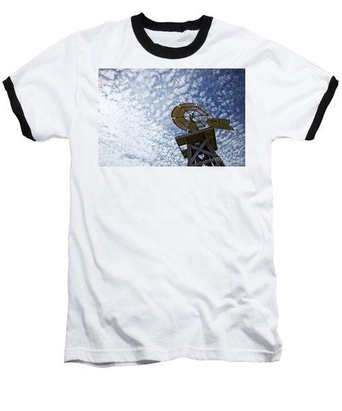 Skyward Baseball T-Shirt by Erika Weber