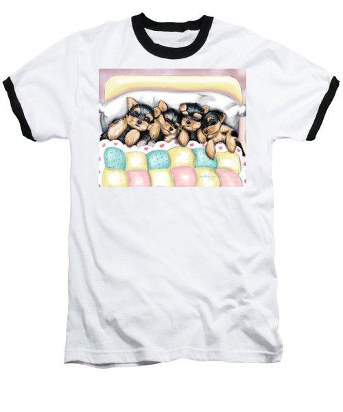 Sleeping Babies Baseball T-Shirt