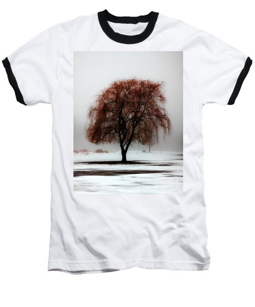 Sleeping Willow Baseball T-Shirt