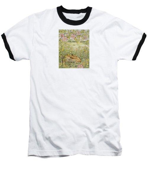 Sleepy Bunny Baseball T-Shirt