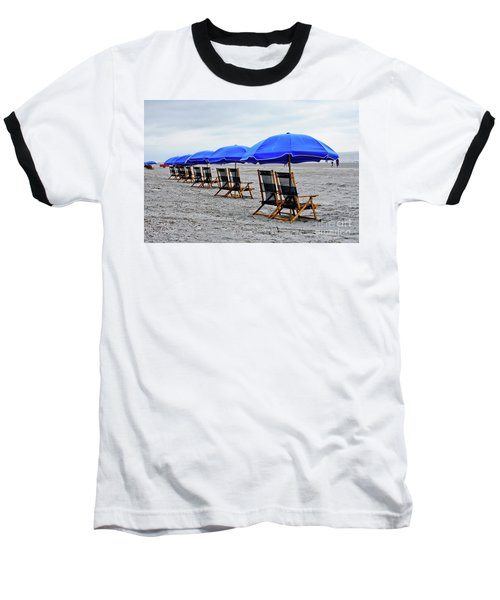 Slow Day At The  Beach Baseball T-Shirt