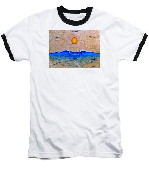 Slow Down And Breathe Baseball T-Shirt