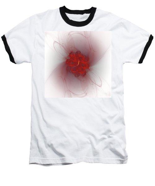 Smokin' Baseball T-Shirt by Victoria Harrington