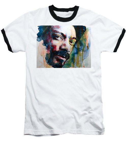 Snoop Dogg Baseball T-Shirt by Laur Iduc