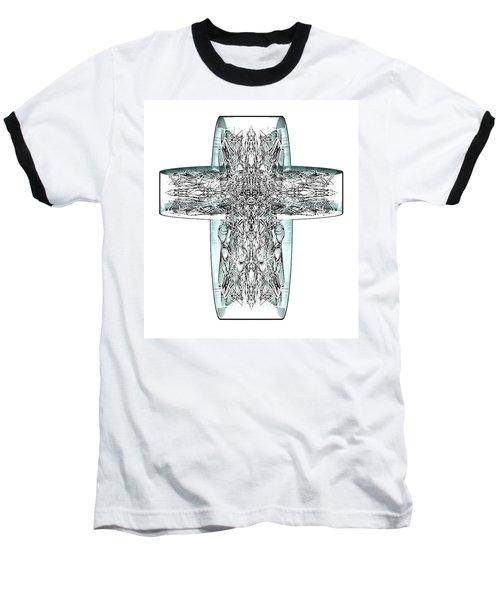 Snow Cross 7  Baseball T-Shirt