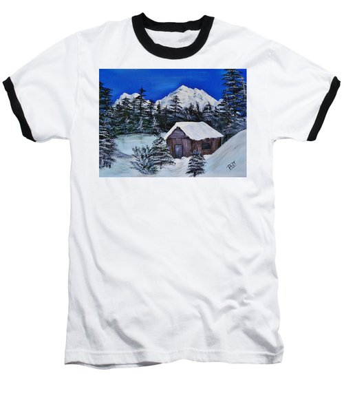 Snow Falling On Cedars Baseball T-Shirt