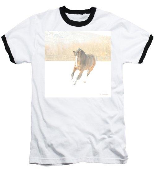 Snow Fun Baseball T-Shirt