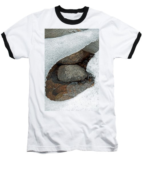 Snow Melt 1 Baseball T-Shirt