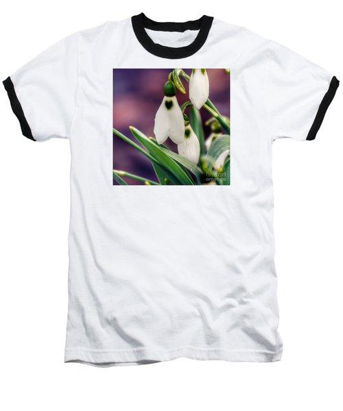 Snowdrops Baseball T-Shirt
