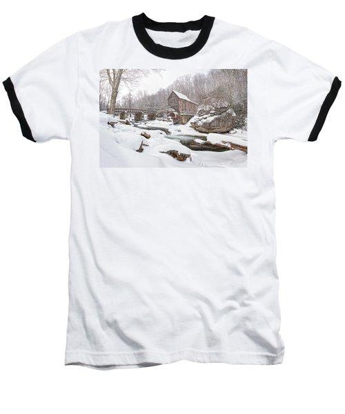 Snowglade Creek Grist Mill 1 Baseball T-Shirt