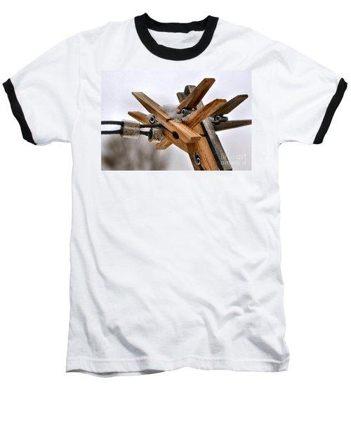 Winter Laundry Day Baseball T-Shirt