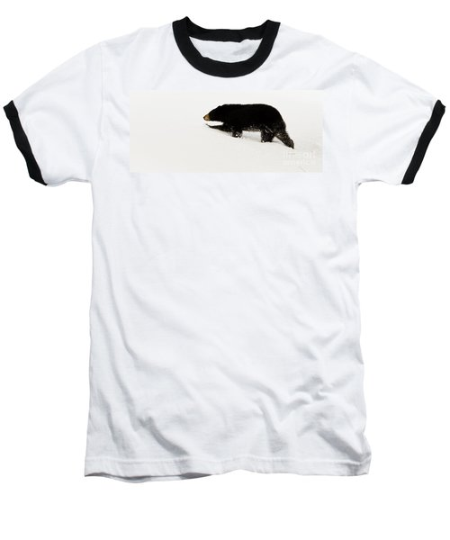 Snowy Bear Baseball T-Shirt