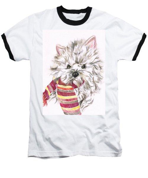 Snowy  Baseball T-Shirt