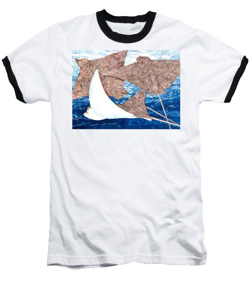 Soaring Eagle Rays Baseball T-Shirt