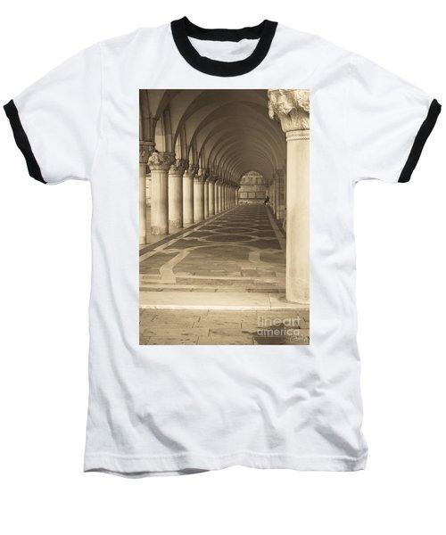 Solitude Under Palace Arches Baseball T-Shirt