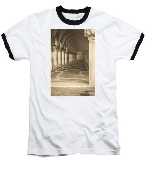 Solitude Under Palace Arches Baseball T-Shirt