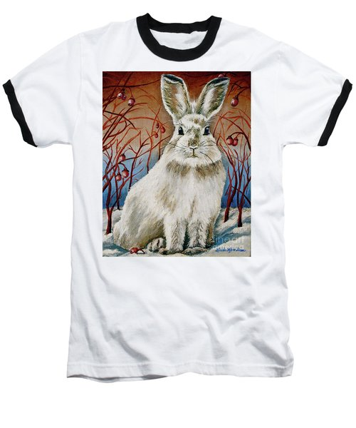 Some Bunny Is Charming Baseball T-Shirt by Linda Simon