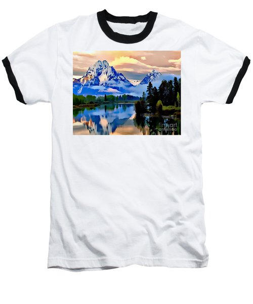 Some Place Some Where Baseball T-Shirt
