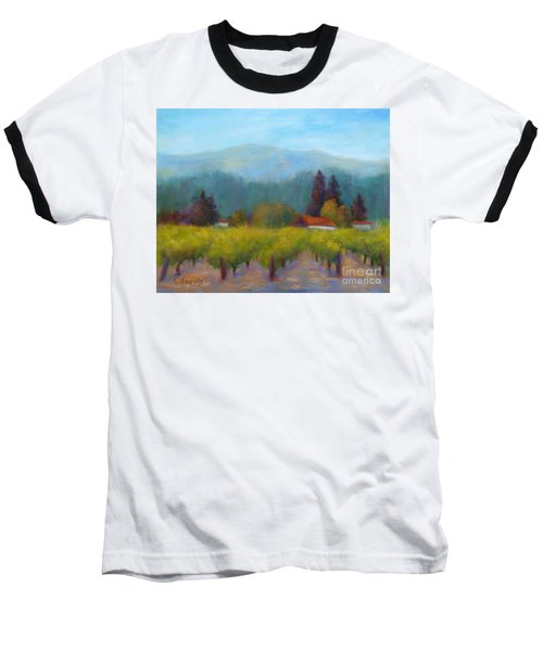 Sonoma Valley View Baseball T-Shirt