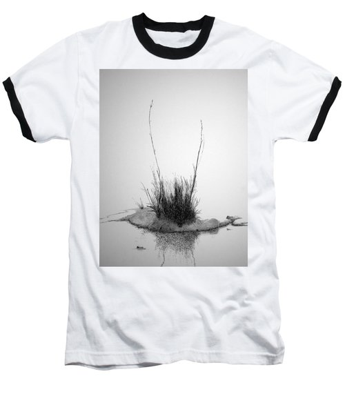 Baseball T-Shirt featuring the painting Soul Etude by A  Robert Malcom