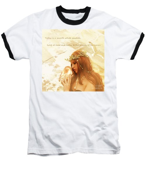 Sounds Of The Sea Baseball T-Shirt