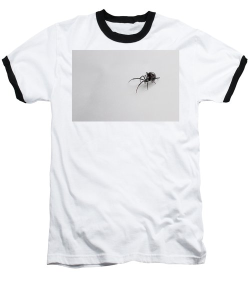 Southern Black Widow Spider Baseball T-Shirt