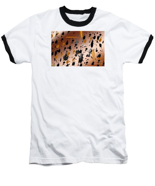 Baseball T-Shirt featuring the photograph Splatters by Tina M Wenger